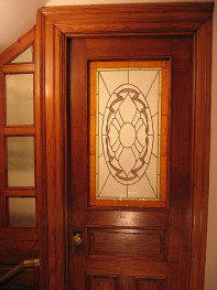 Door off the main hallway.